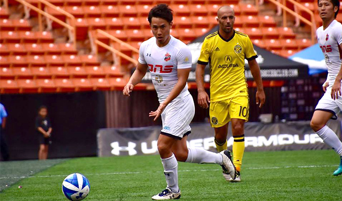 Pacific Rim Cup2018 Powered by Under Armour vs Columbus Crew SC